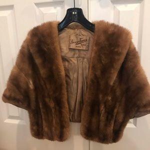 Genuine vintage mink stole
